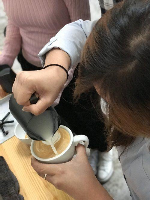Curso latte art barista