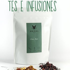 Tes e infusiones ecológicos Animal Coffee
