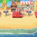 Pizza Beach Cafe Design Animal Crossing New Horizon Animal Crossing New Horizons Design Inspiration