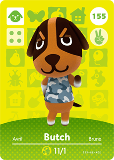 amiibo_card_AnimalCrossing_155_Butch