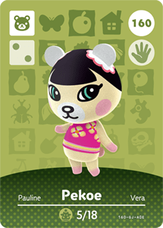 amiibo_card_AnimalCrossing_160_Pekoe
