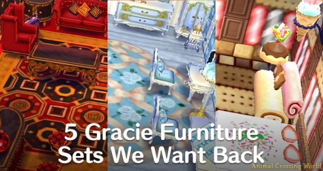 animal crossing new leaf 5 gracie furniture sets graciegrace banner 1