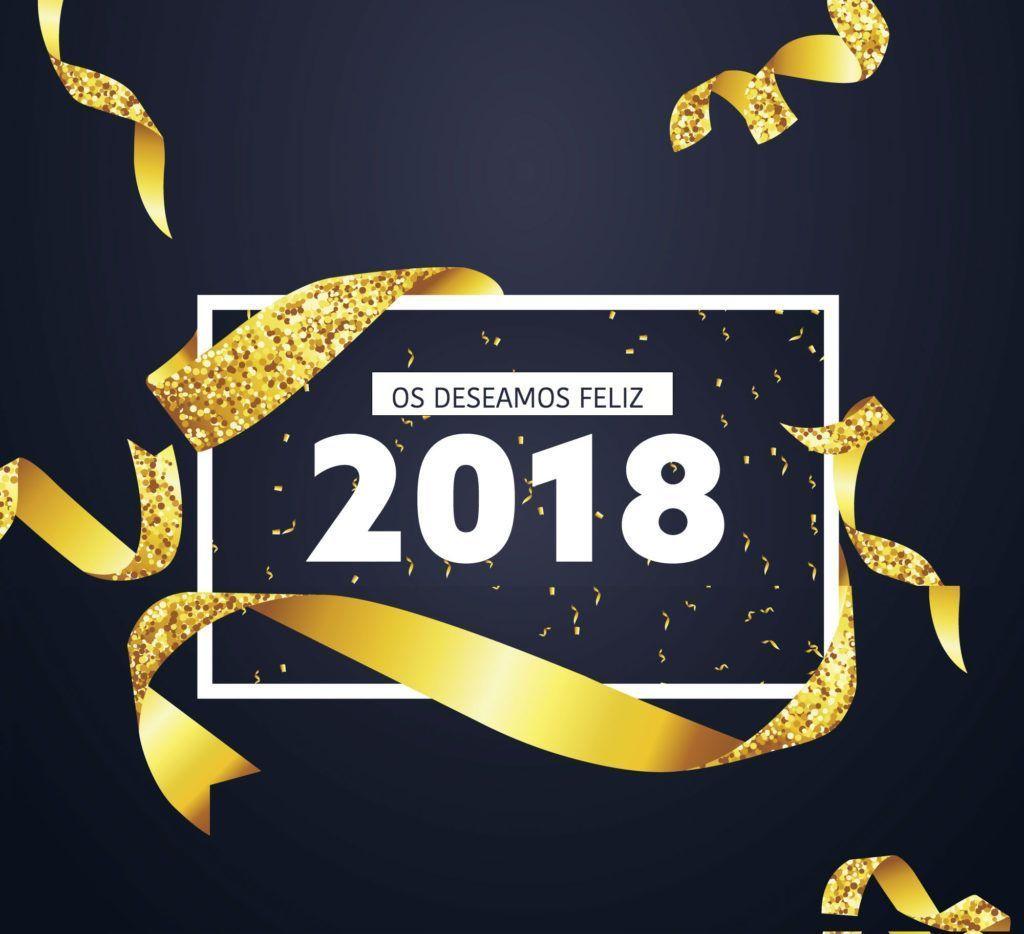 Felicitación año 2018 Animales Exóticos 24h