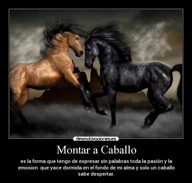 Imagenes Bonitas De Caballos Con Frases Cortas De