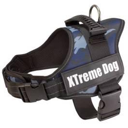 Arnés Xtreme Dog Blue Camo