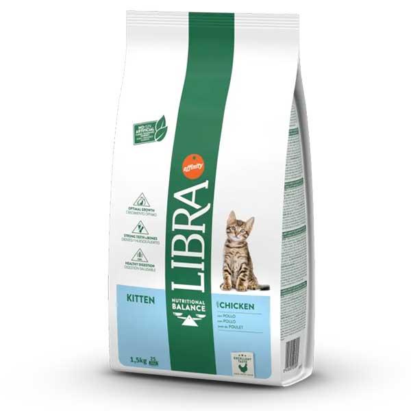 Libra Kitten Chicken Cat