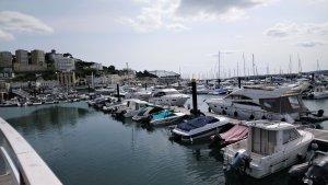 Boats in Torquay Marina