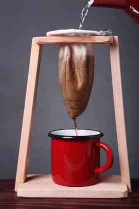 El café de calcetín existe: ¡es un método de filtrado en Costa Rica!