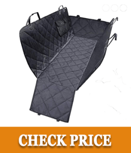 URPOWER Dog Seat Cover Car Seat Cover for Pets 100%Waterproof Pet Seat Cover