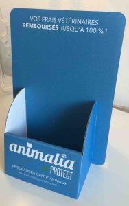 ANIMALIA PROTECT présentoirs à flyers