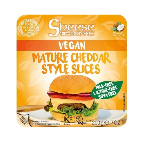Sheese Mature Cheddar -juusto.