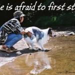 first step.