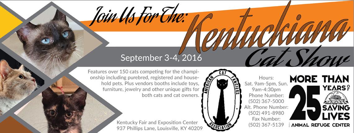 Kentuckiana Championship Cat Show