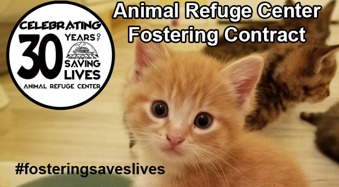 Animal Refuge Center Fostering Contract