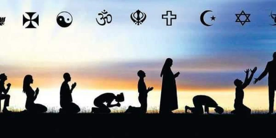 Religious symbols and praying methods