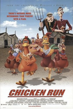 DVD cover of Chicken Run from the creators of Wallace & Gromit