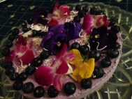 Co-host Alison made this yummy (and very easy) raw vegan blueberry cheesecake for Pi Day this week!