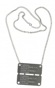 armyplate engraved id tag