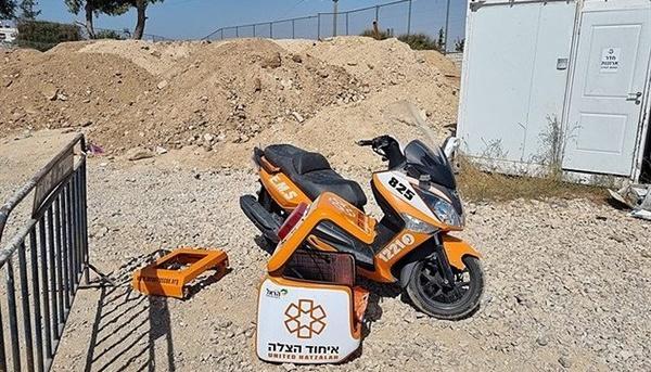 Israel: Motociclete-ambulanță furate, una recuperată într-un oraș palestinian