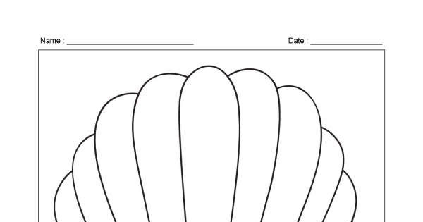 Hot Air Balloon – Colouring Page