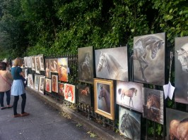 People's Art Gallery in Stephen's Green Park