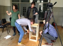 'Animating the layers of history' workshop with Judit Ferencz