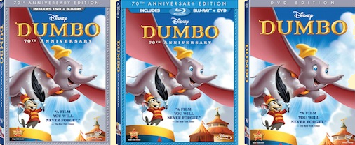 Dumbo finally on Bluray for 70th Anniversary  Animated