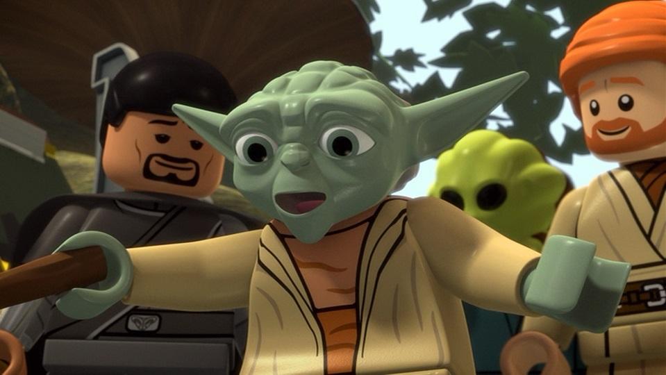 Lego Star Wars The New Yoda Chronicles Animated Views