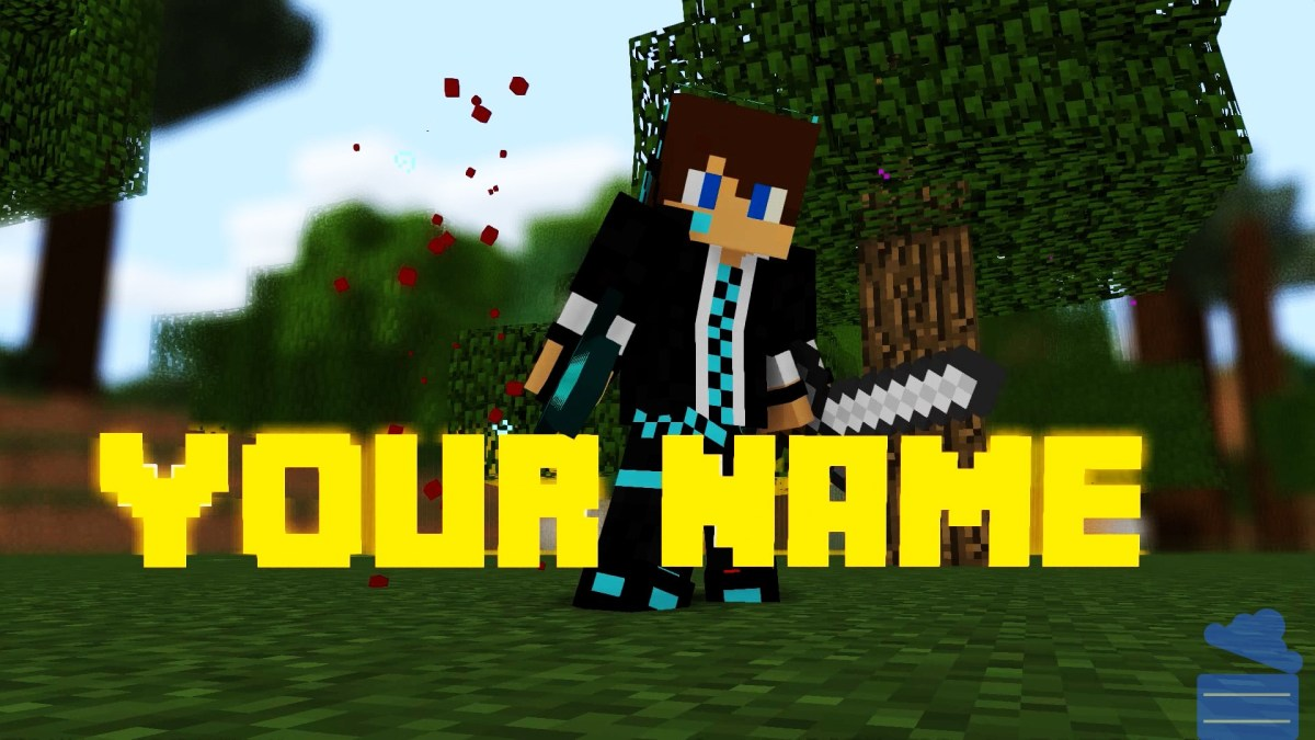 Minecraft Intro Template | Free Minecraft Intro Template 4 Animation Cloud