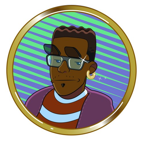Kerwin Popo Self Portrait