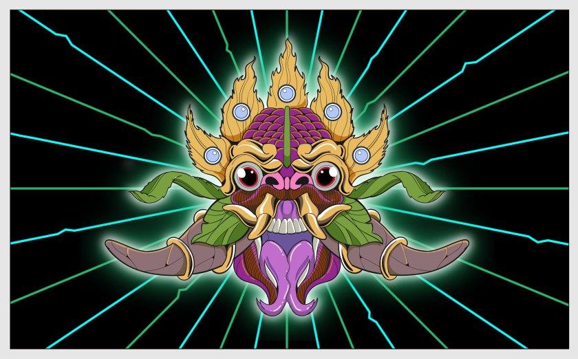 Kerwin Popo Dragon Illustration
