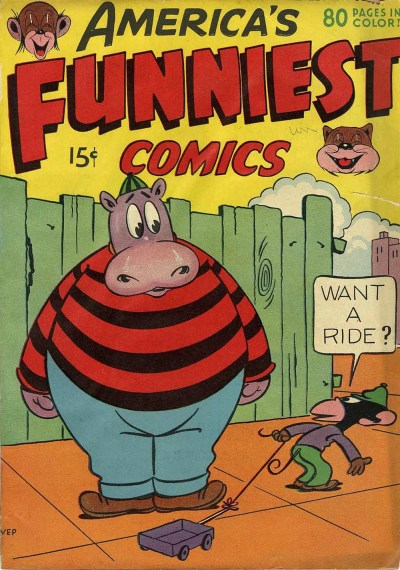 Inbetweens: Funny Animal Comic Book Covers ...