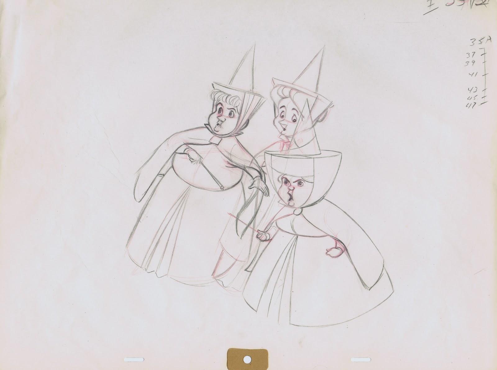 Inbetweens: Andreas Deja on Ollie Johnston's Three Fairies
