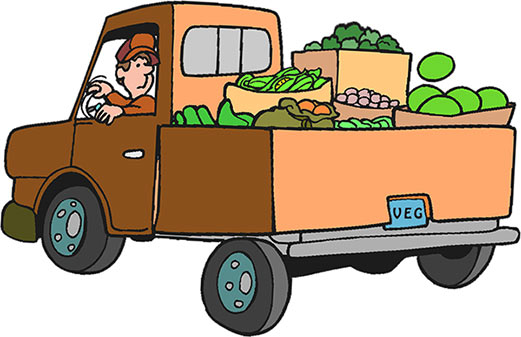 truck clipart - free