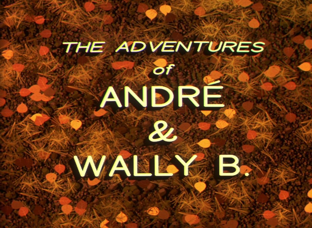 Pixar Shorts: The Adventures of André and Wally B. (1984)