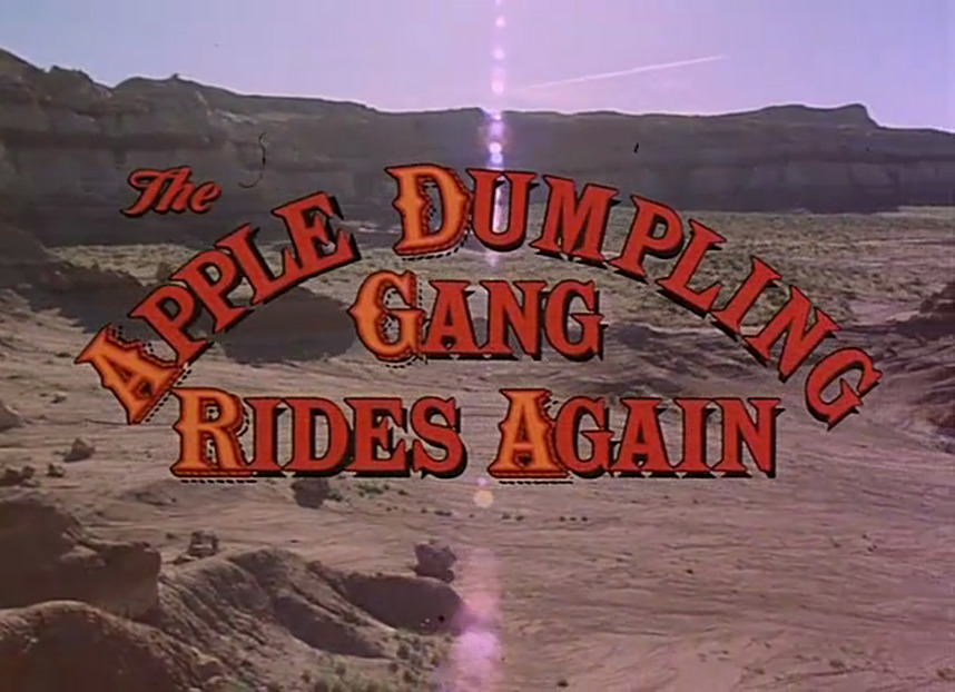 The Apple Dumpling Gang Rides Again (1979)