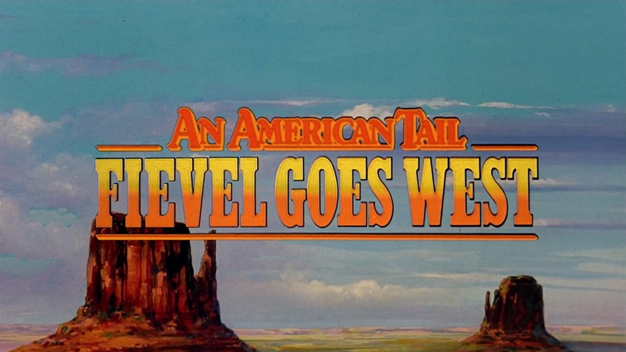 an american tail fievel goes west blu ray