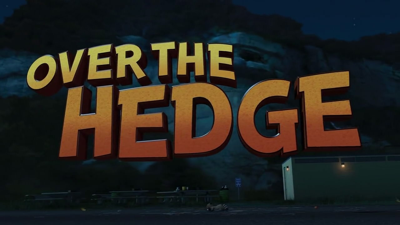 Over The Hedge 2006 Animation Screencaps