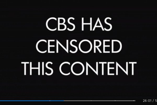 CBS Censors a 'Good Fight' Segment. Its Topic Was Chinese Censorship.