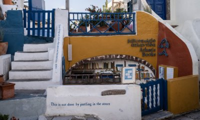 On a Greek Island, a Bookstore With Some Mythology of Its Own
