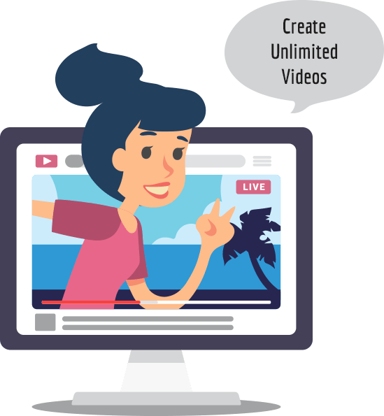 Create Unlimited Videos