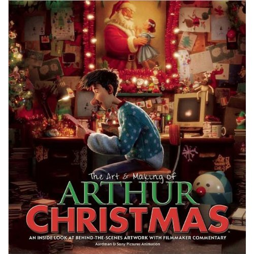 Arthur Christmas Characters.The Art Making Of Arthur Christmas Animator Mag Book