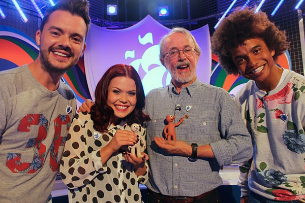 Peter Lord Blue Peter badge