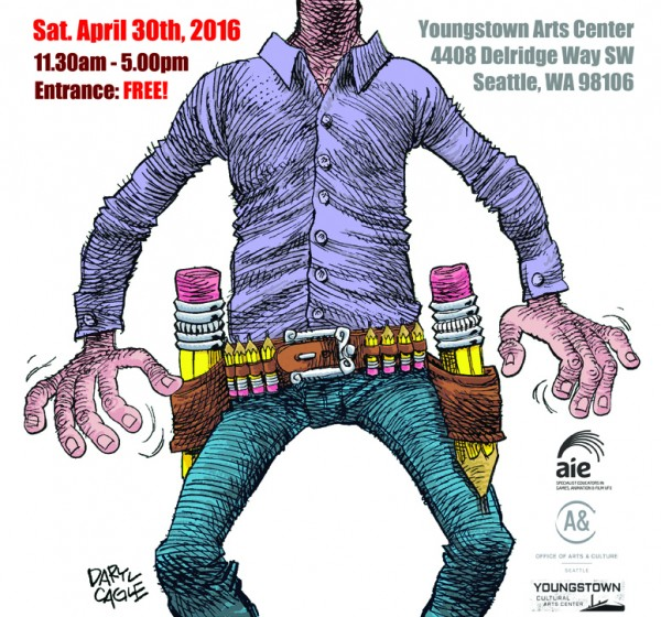 West Seattle's new and exciting festival of drawing & animation