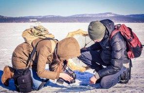 Снимаем лёд