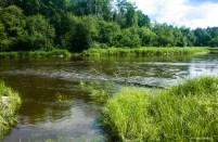 Река Реж и брод через нее