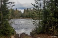 Место, где нужно переправиться через реку