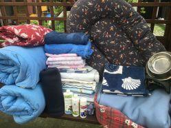 Merci Maryse pour votre visite et pour ces bons textiles qui vont garder nos protégés propres et au chaud ❤