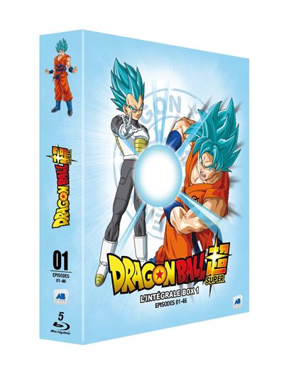coffret dragon ball super box 1 anime hd. Black Bedroom Furniture Sets. Home Design Ideas