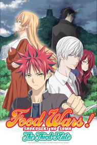 Food Wars Saison 3 Vf Streaming : saison, streaming, Wars!, Third, Plate:, Totsuki, Train, Anime-Planet